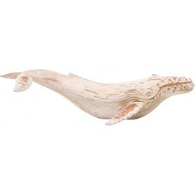 ballena blanca madera