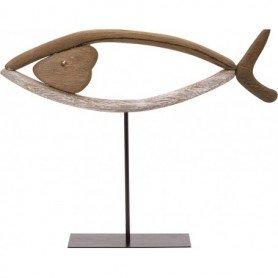 pez marinero madera