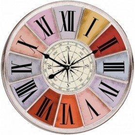reloj colorido vintage