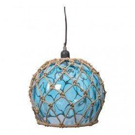 Lámpara marinera de cristal tipo boya