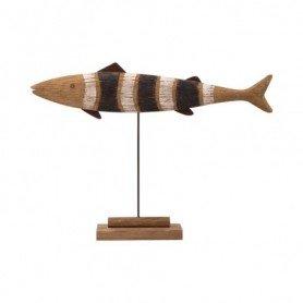 Figura pez marino de madera
