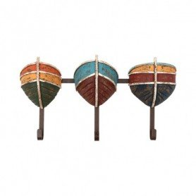 Perchero colgador de madera decoración