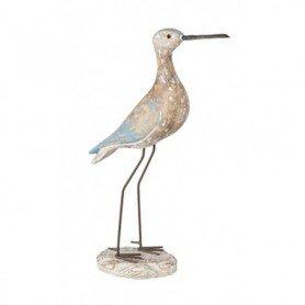 pájaro marinero en madera reproducción náutica