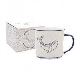 Taza de desayuno ballena