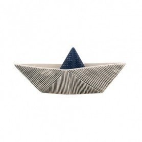 Figura marinera barco papel decorativo