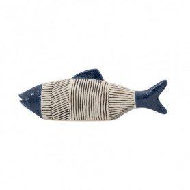 Figura pez cerámica náutica