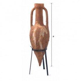 Ánfora mediterránea en cerámica