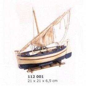 Maqueta de barca de pesca Llaud