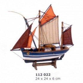 Maqueta de barca de pesca Thonier