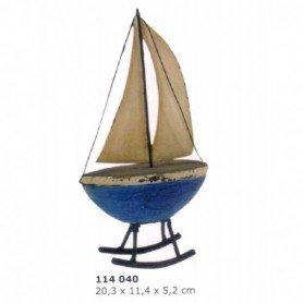 Miniatura marinera de velero balancín