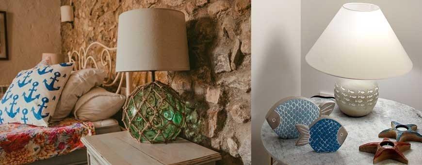Lámparas Marineras de Mesa y Pie para decoración e iluminación náutica