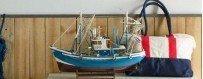Maquetas de barcos de pesca, atuneros, langosteros, bisquine