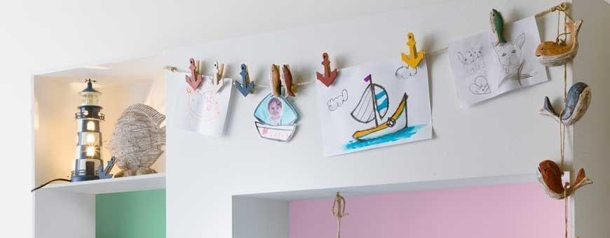 Decoración marinera habitación infantil
