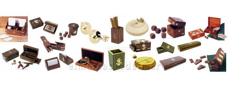 Juegos, Estuches, Ceniceros náuticos para regalo y decoración náutica