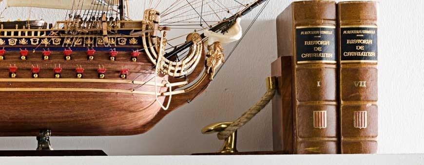 Lupas náuticas, Abrecartas y Apoyalibros Marineros para escritorio