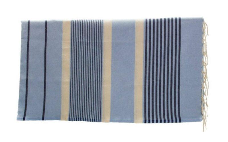 toalla pareo fouta para decoración marinera